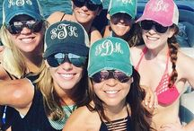 Girls Weekend Ideas / Monogram gift ideas for girls weekend!