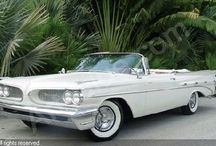 American cars of the 50's