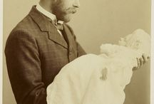 King George V and his firstborn later king Edward VIII