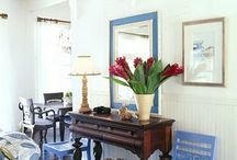 Beachy Indoor Living / by Stacy