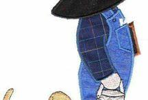 kalapos kisfiú