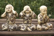 Buddha figures / Buddha and Buddhism inspired figures and ornaments