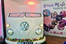 My amazing VW Split Screen Campervan DJ Booth