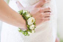 Bransoletka z kwiatów
