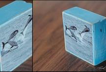 Wood Block Prints by Brad Styron