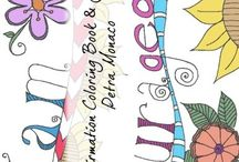 Affirmations Coloring Books and Journals
