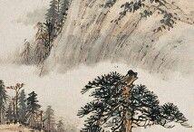 Деревья и пагоды