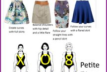 skirts for different body shapes