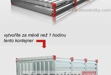 Skladové kontejnery / Skladové kontejnery pro snadné rozšíření skladových prostor.