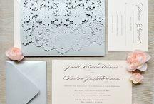Bryllup- Invitasjoner, program etc.