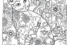 Creative Cats Adult Colouring