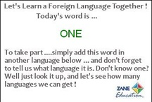 """Learn a Foreign Language / There's no better way to start learning a foreign language than by selecting a word and then using an online foreign language translator or dictionary to identify that word in that foreign language. Here we provide you with """"flash cards"""" each day that contain a commonly used word. Gradually you will find that you are gaining a working knowledge of that language. Here is a free online translator we use: http://translate.google.com/"""