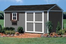 """Traditional Sheds / One of our best selling series gable-style sheds. The Arlington has so much built-in functionality! Features 6 ft. high sidewalls and an 8'9""""-ft. high peak."""
