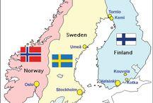 Finlandia Svezia norvegia