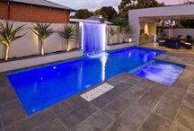 Swimming pools & backyard
