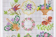 cross stitch patterns - small projects