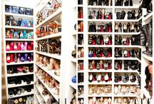 Shoe Storage / shoe organiser, walk in shoe closet wardrobe shelving