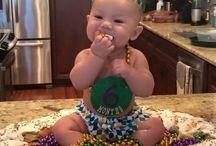 Carrington's 1st Birthday