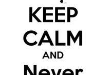 Keep calms / keep calm