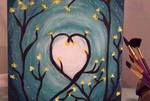 acrylic paint ideas