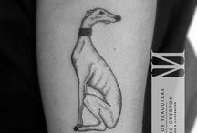 Greyhound tattoo ideas