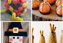 Thanksgiving Treats / Cute Thanksgiving treats, candy, favors, classroom party ideas, kids