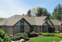 Medium Bronze Metal Roof