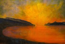 Lochs & Mountains Gallery / My collection of paintings of Scottish Lochs & Mountains