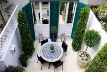 French courtyard ideas