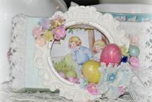 Altered Matchbox - Easter