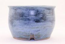 Semi-Cascade Bonsai Pots / Pottery for semi-cascade Bonsai trees