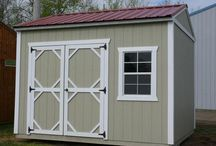 "Garden Shed / Our Garden Sheds come with many features, including:  *2x3 Single Pane Windows  *Pressure treated 4"" x 6"" Support Beams  *Pressure treated 5/8"" flooring  *Pressure treated 2"" x 6"" Floor Joists  *Standard wall height 92"" *8' x 12' Has 48"" Single Door *Double Wood Door (72"" x 69"") opening on 10' wide and larger *Soffit vents *Douglas Fir Siding"