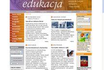 Edukacja.demart.com.pl / Serwis edukacyjny dla nauczycieli geografii, przyrody i historii skupionych wokół wydawnictwa Demart. Projektant treści i użyteczności: Dorota Nawalany. Wykonawca: firma eoNetworks ASP Sp. z o.o. (obecnie Kompan.pl). Rok: 2005-2006