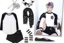 엑소 inspired outfits