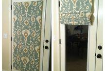 door with blind