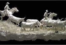 Sculpturi hârtie