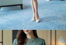 blusa y pollera