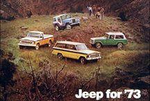 jeeps & vans / by Danielle Requena