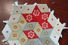 English and Foundation Paper Piecing