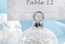 Christmas table number