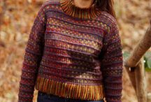 Knitting and crochet patterns and inspiration