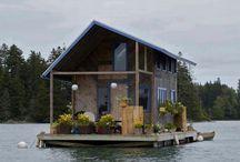 cabins / Wood/stone