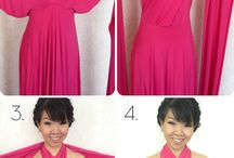 Tips and tricks for dresses