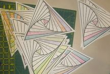 Paper pieced ( foundation)