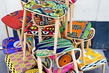 Africa mood textiles and furniture
