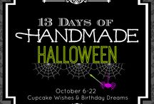 13 Days of Handmade Halloween / 13 DIY Crafts and ideas by Super creative bloggers and creatives hosted by the blog, Cupcake Wishes & Birthday Dreams