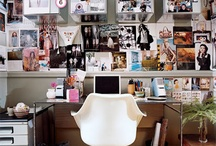 Inspired workspace / by stylescoop blog.com