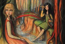 Kelly Vivanco / I am smitten by Kelly Vivanco's beautiful art. The descriptions are my interpretations, my perspectives of her breathtaking work