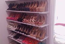 Armadio di scarpe