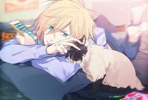 Yuri Plisetsky / A smol russian bean that deserves love and protection. He also likes cats... and is smol